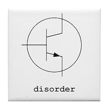 Bipolar Disorder Tile Coaster