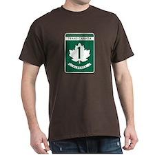 Trans-Canada Highway, Alberta T-Shirt