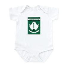 Trans-Canada Highway, Alberta Infant Bodysuit