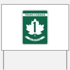 Trans-Canada Highway, Alberta Yard Sign