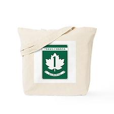 Trans-Canada Highway, Alberta Tote Bag