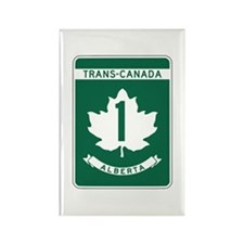 Trans-Canada Highway, Alberta Rectangle Magnet (10