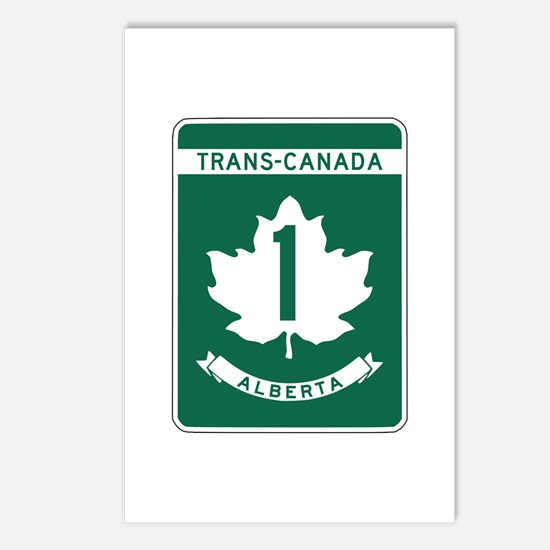 Trans-Canada Highway, Alberta Postcards (Package o