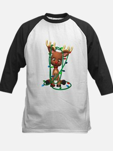 Rudolf - Oh, Deer! Kids Baseball Jersey