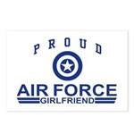 Proud Air Force Girlfriend Postcards (Package of 8