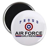 Proud Air Force Girlfriend Magnet