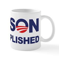Mission Accomplished (Obama) Mug