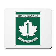 Trans-Canada Highway, British Columbia Mousepad