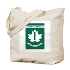 Trans-Canada Highway, British Columbia Tote Bag