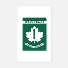 Trans-Canada Highway, British Columbia Bumper Stickers