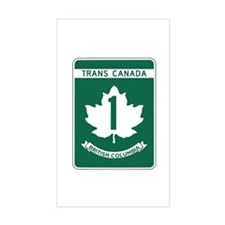 Trans-Canada Highway, British Columbia Decal