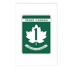 Trans-Canada Highway, British Columbia Postcards (