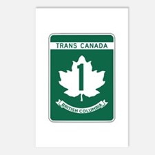 Trans-Canada Highway, British Columbia Postcards (