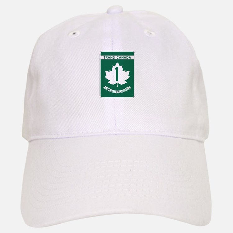 Trans-Canada Highway, British Columbia Baseball Baseball Cap