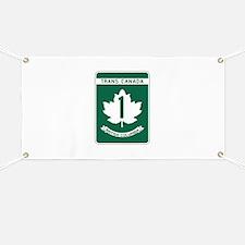 Trans-Canada Highway, British Columbia Banner