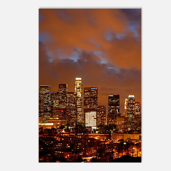 Los Angeles Red Skies Postcards (Package of 8)