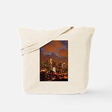 Los Angeles Red Skies Tote Bag