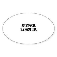 SUPER LIMNER Oval Decal
