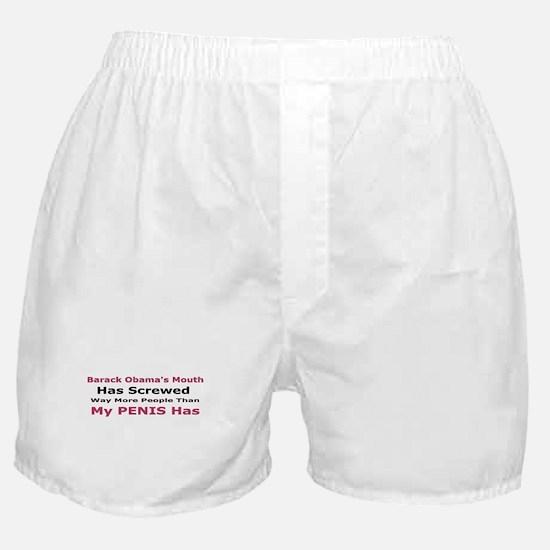 Unique Obama christmas Boxer Shorts
