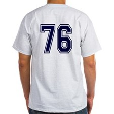 NUMBER 76 BACK T-Shirt