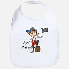 Aye Matey Pirate Bib