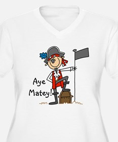 Aye Matey Pirate T-Shirt
