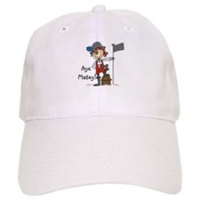 Aye Matey Pirate Baseball Cap