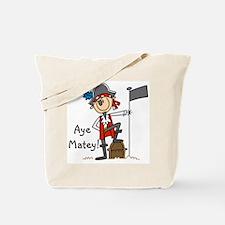 Aye Matey Pirate Tote Bag