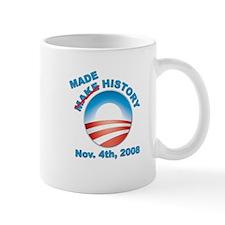 Obama - Made History Small Mug