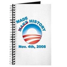 Obama - Made History Journal