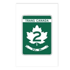 Trans-Canada Highway, New Brunswick Postcards (Pac