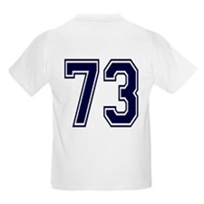NUMBER 73 BACK T-Shirt
