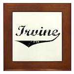 Irvine Framed Tile