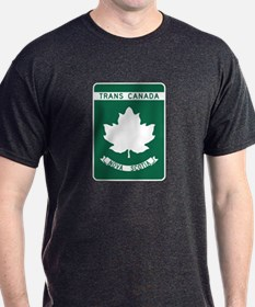 Trans-Canada Highway, Nova Scotia T-Shirt
