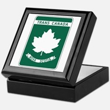 Trans-Canada Highway, Nova Scotia Keepsake Box