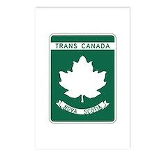 Trans-Canada Highway, Nova Scotia Postcards (Packa