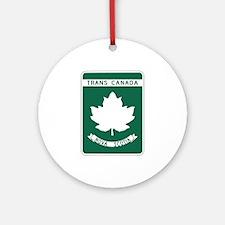 Trans-Canada Highway, Nova Scotia Ornament (Round)