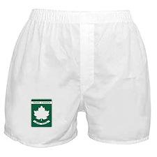Trans-Canada Highway, Nova Scotia Boxer Shorts