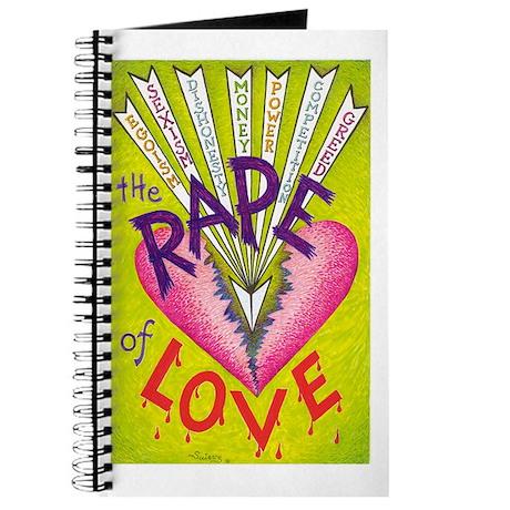 THE RAPE OF LOVE - Journal