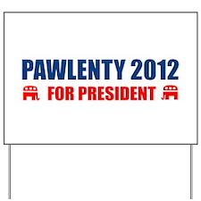 TIM PAWLENTY FOR PRESIDENT 2012 BUMPER STICKER AND