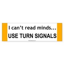 Use Your Turn Signals
