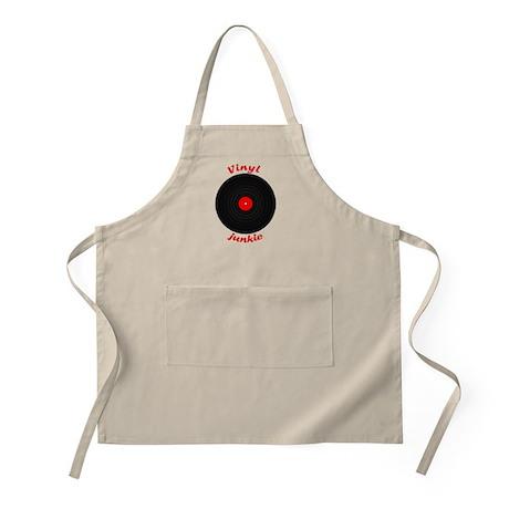 Vinyl Junkie BBQ Apron