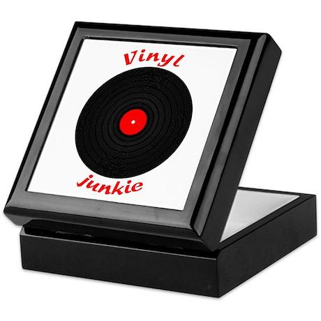 Vinyl Junkie Keepsake Box