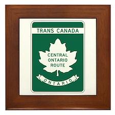 Trans-Canada Highway, Ontario Framed Tile