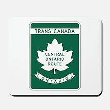 Trans-Canada Highway, Ontario Mousepad