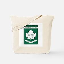 Trans-Canada Highway, Ontario Tote Bag