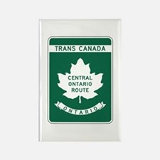 Trans-Canada Highway, Ontario Rectangle Magnet