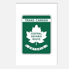 Trans-Canada Highway, Ontario Postcards (Package o