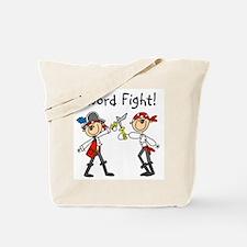 Pirate Sword Fight Tote Bag