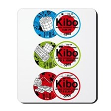 Kibo 3 Patch Mousepad